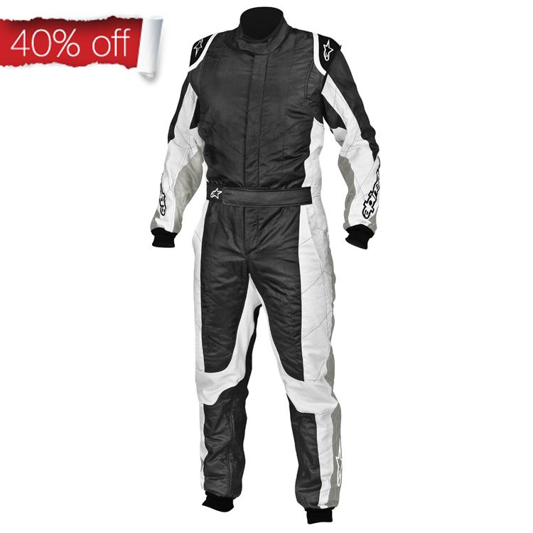 Alpinestars GP Tech Race Suit in Anthracite Grey &