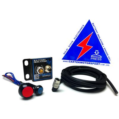 Cartek XR Solid State Battery Isolator Kit