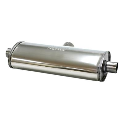 Jetex Achter Silencer Box 500mm lange roestvrije 2,5 inch inlaat